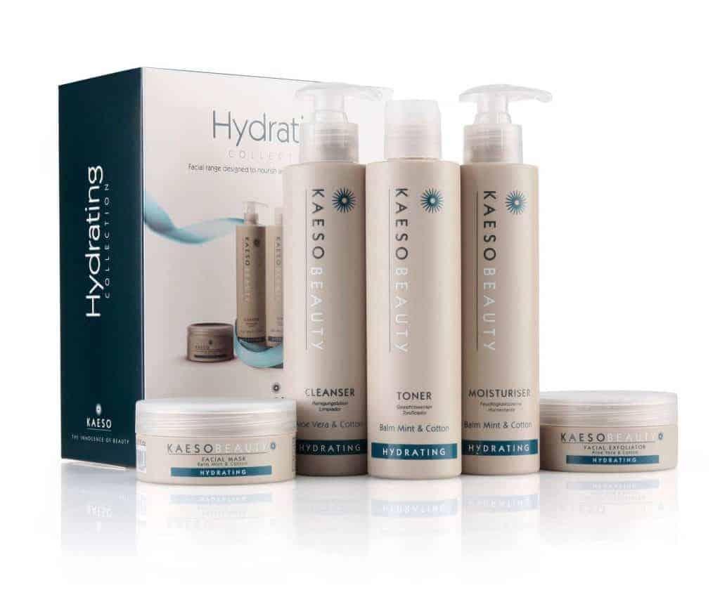 Hoeveel huidverzorgingscrème - kaeso hydration collectie